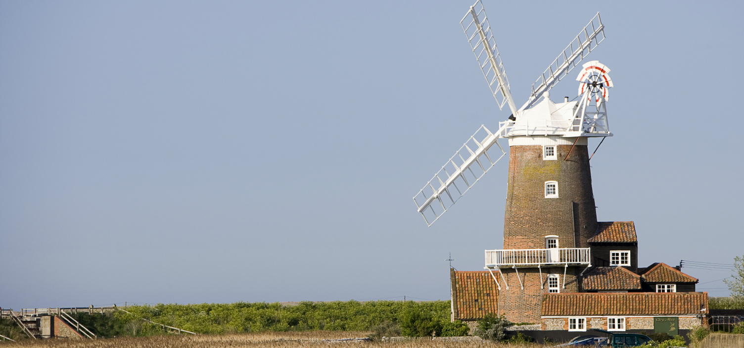 View of a Windmill