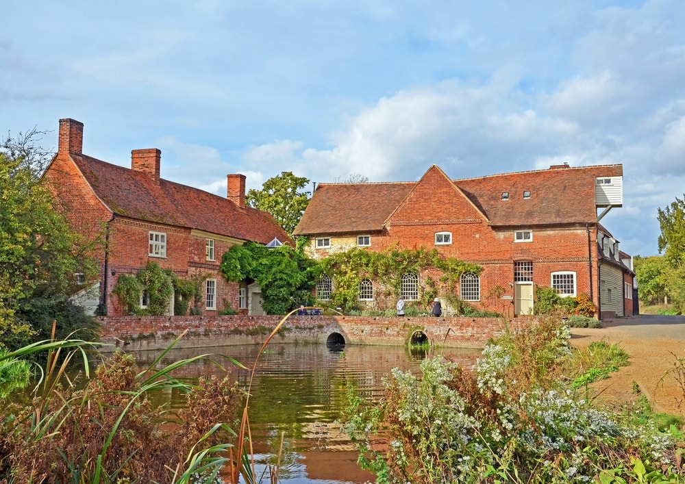 Flatford Mill on the River Stour
