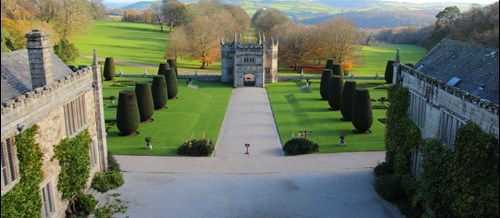 View of Lanhydrock and grounds