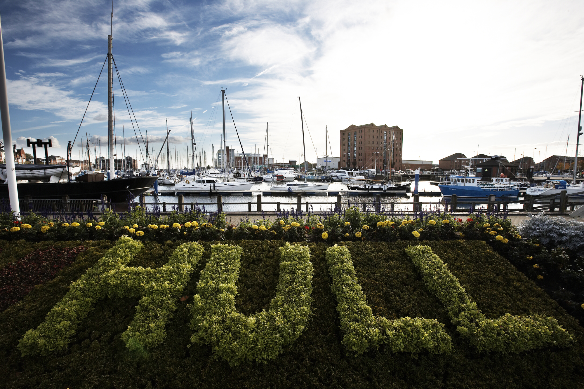 Hull City harbour
