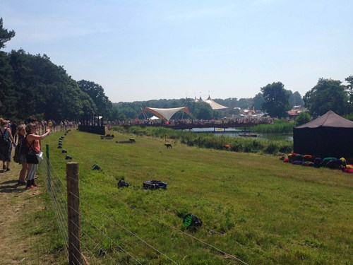 View of tents at Latitude Festival