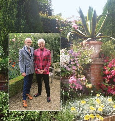East Ruston Old Vicarage Gardens in bloom
