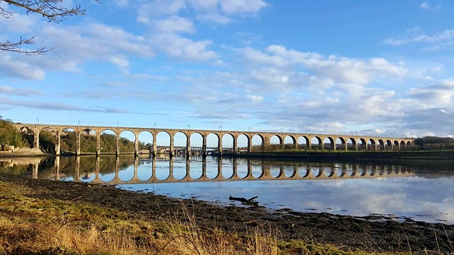 Berwick upon Tweed in Northumberland