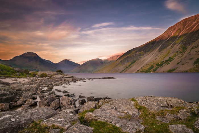 Wastwater Lake in the Lake District National Park, Cumbria