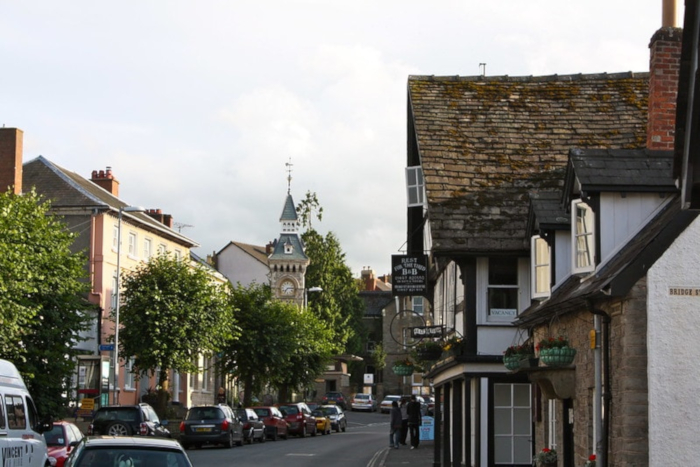 Town of Hay-on-Wye, Wales