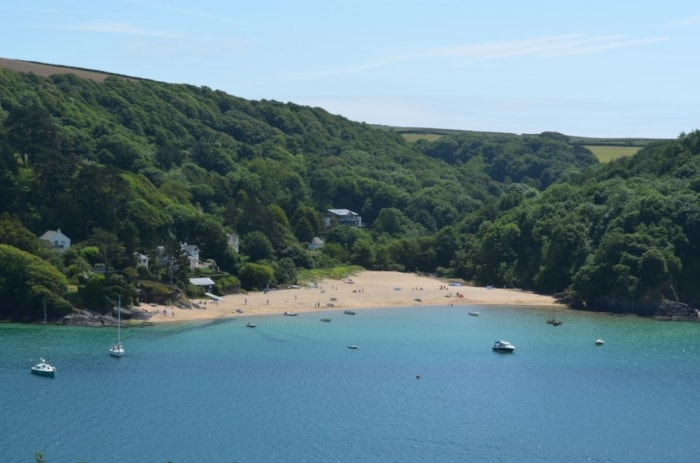 Mill Bay, looking from nearby Salcombe