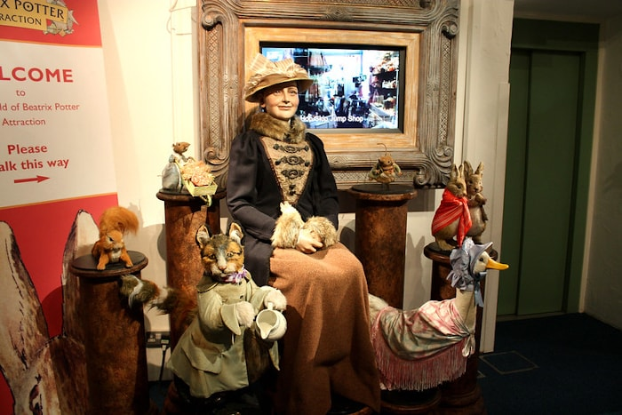 Beatrix Potter world in the Lake District