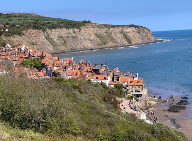 Robin Hood's Bay in Yorkshire