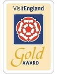 VisitEngland Gold award for excellence