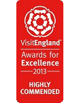 2013 Highly Commended VisitEngland Awards for Excellence