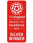 2014 Silver National VisitEngland Award for Excellence