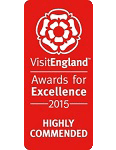 2015 Highly Commended VisitEngland Award for Excellence