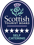 Visit Scotland 5 star graded