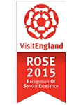 VisitEngland Rose Award 2015