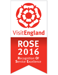 VisitEngland Rose Award 2016