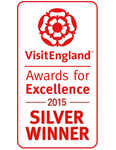 2015 Silver National VisitEngland Award for Excellence