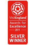 2011 Silver National EnjoyEngland  Awards for Excellence