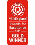2010 Gold National VisitEngland Awards for Excellence
