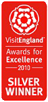 2010 Silver National EnjoyEngland Awards for Excellence