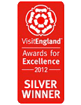 2012 Silver National VisitEngland Awards for Excellence