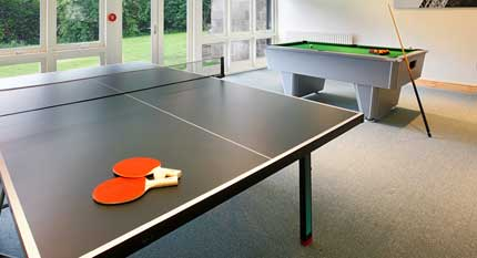 Luxury holiday cottages with games rooms