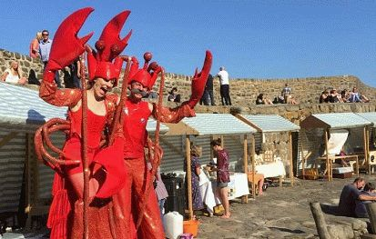 Clovelly Lobster and Crab festival